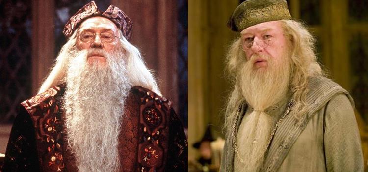 Professor-Dumbledore-Harry-Potter-Richard-Harris-Michael-Gambon